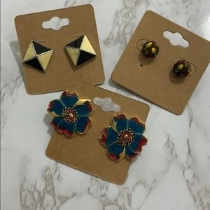 Vintage Statement Earring Bundle